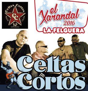 El Xarandal 2016 cartel Celtas Cortos.cdr
