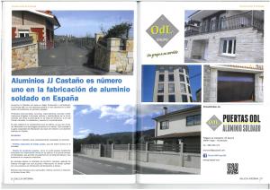 Revista Galicia Informa nº5 Abril 2016 Construccion y Vivienda Aluminios JJ Castaño